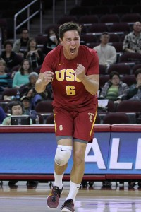 Digging deep · Senior outside hitter Henry Cassiday ranks second in the nation and first in the MPSF conference with 3.15 digs per set. - Nick Entin | Daily Trojan