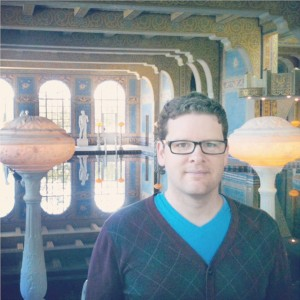 Write stuff · Third-year graduate student Brian Polak will travel to the 2014 Kennedy Center American College Theater Festival to see two of his plays performed. - Photo courtesy of Brian Polak