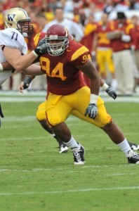 Armond Armstead. – Photo courtesy of USC Sports Information