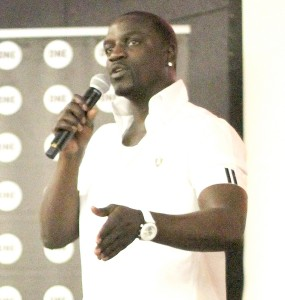 Leading generations · Recording artist Akon spoke to students about the #PowerProject Campaign Lab, which had its first launch at USC. - Paul Jung | Daily Trojan