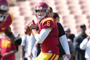 Shooting blanks · Redshirt junior quarterback Cody Kessler went 5-for-10 for 86 yards during USC's spring game, with no touchdowns and no interceptions. Kessler was named the Trojans' starter last week. - Ralf Cheung | Daily Trojan