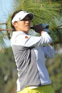 Pro ready · Sophomore Annie Park will miss USC's tournament to compete in the LPGA Kraft Nabisco Championship over the weekend.  - Courtesy of USC Sports Information