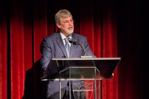 'I am the captain now' · Capt. Richard Phillips of the Maersk Alabama was the closing speaker of CREATE's 10-Year Anniversary event, which took place on Thursday in the Ronald Tutor Campus Center. Phillips spoke on the 2009 hijacking of his ship by Somali pirates. - Nick Entin | Daily Trojan