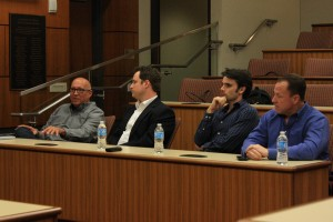 Panelists share their success stories and advice with students. — Hailey Sayegh
