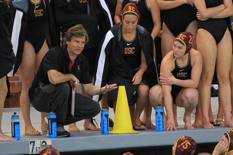 Usc's Polo Usa Vavic Water Daily Recognizes Trojan