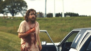 Vengeance is his · Dwight (Macon Blair) returns after years of homeless exile to hunt down the man responsible for his parents' murder in Jeremy Saulnier's crowd-funded Blue Ruin, which opens in theaters and VOD today. This revisionist thriller is fueled by the contrast of the low-key anti-hero and the chaos he incites. - Photo courtesy of The Weinstein Company