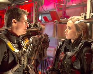 Time to kill · In Doug Liman's sci-fi thriller Edge of Tomorrow, Tom Cruise (left) plays William Cage, a futuristic soldier who finds himself caught in a time loop while attempting to thwart an alien invasion. - Photo courtesy of Warner Bros. Pictures