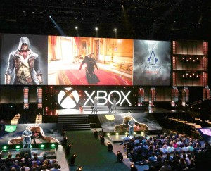 Unified at last · Xbox E3 briefing included a live demonstration of the next installment in Ubisoft's Assasin's Creed franchise, Unity. The next-generation game experience will feature collaborative multiplayer gameplay.  - Photo Courtesy of Xbox Wire