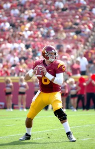 Code red · Redshirt junior quarterback Cody Kessler led the Trojans to 10 wins while throwing for 2,968 yards and 20 touchdowns last season. - Ralf Cheung | Daily Trojan