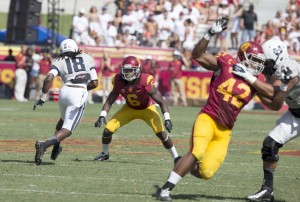 Shaw shanks redemption - Senior cornerback Josh Shaw had four interceptions for the Trojans last season and was recently named a team captain. News of his suspension comes three days before the Trojans are set to face Fresno State.