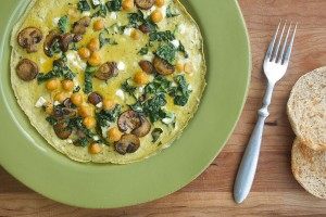 Yummy in my tummy! · The fast frittata for one is a perfect way to make any brunch more exciting without having to get fancy. Not only is it delicious, but it  has everything  necessary for a balanced meal.  -  Maral Tavitian| Daily Trojan