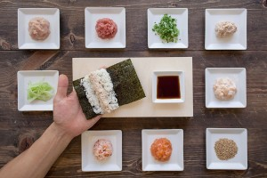 Take your pick · The menu at KazuNori varies from different set menus to hand rolls to à la carte options and sashimi. The restaurant also offers 16-piece and 8-piece cut rolls with sashimi on the convenient takeout menu. — Photo courtesy of KazuNori