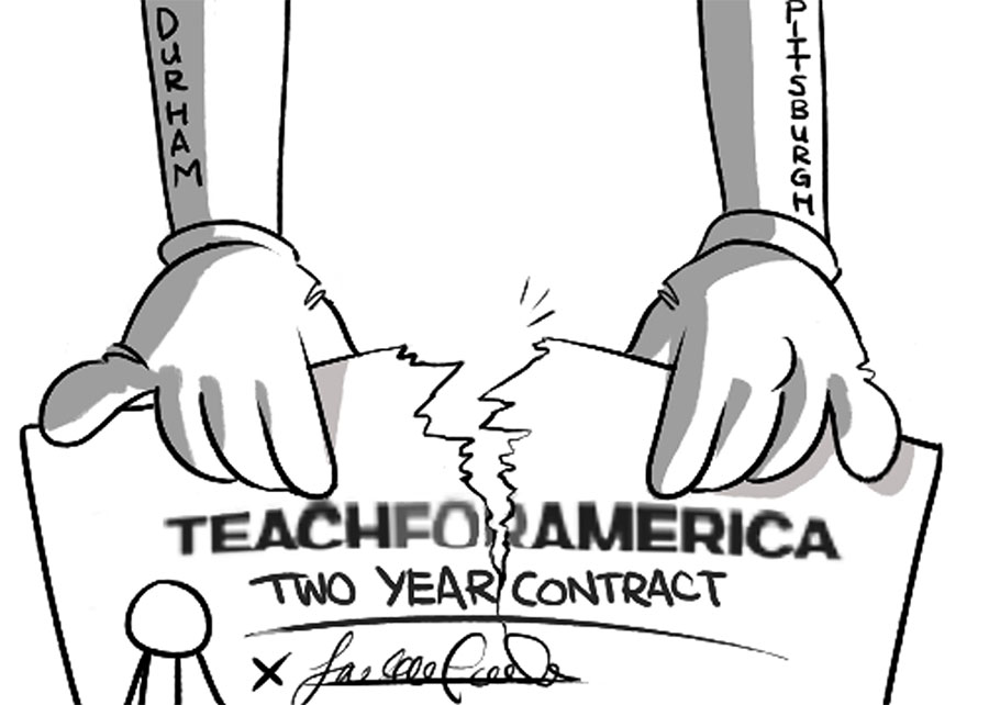 i quit teach for america essay Education historian diane ravitch discusses why teach for america is college news and links to campus papers it's a well-known fact that over 50% quit during.