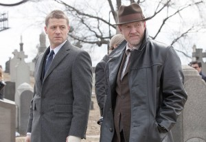 Gordon year one · Ben McKenzie (left) stars as Detective James Gordon in Gotham, a new TV series focusing on the future Commissioner and his fight against corruption in the years before the arrival of Batman. - Photo courtesy of Fox