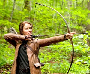 Taking aim at empowerment · Though films such as The Hunger Games series feature prominent female protagonists, there has been a lack of women involved in the behind-the-scenes process of filmmaking. - Photo courtesy of Lionsgate Films