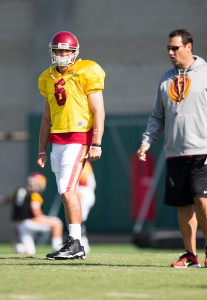 Toe Chainz · Redshirt junior quarterback Cody Kessler underwent a procedure on his toe Tuesday, but insists he will be ready for Saturday. - Ralf Cheung | Daily Trojan