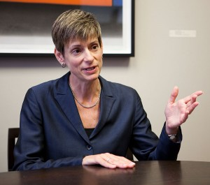 Shoes to fill · Provost Elizabeth Garrett, above, will leave USC on July 1, 2015 to assume her new role as president of Cornell University. - Daily Trojan file photo