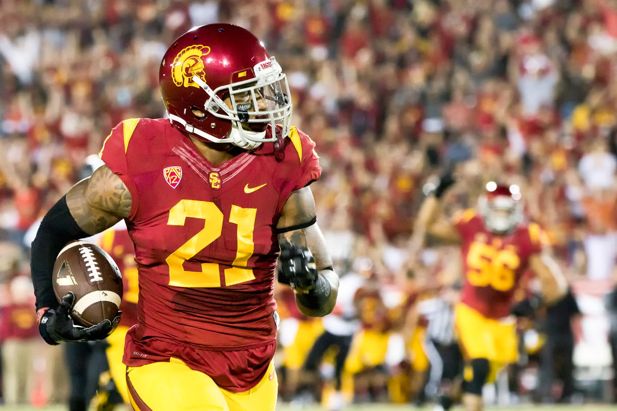 Linebacker Su a Cravens was among four Trojans chosen in the 2016 NFL Draft. e51194b38