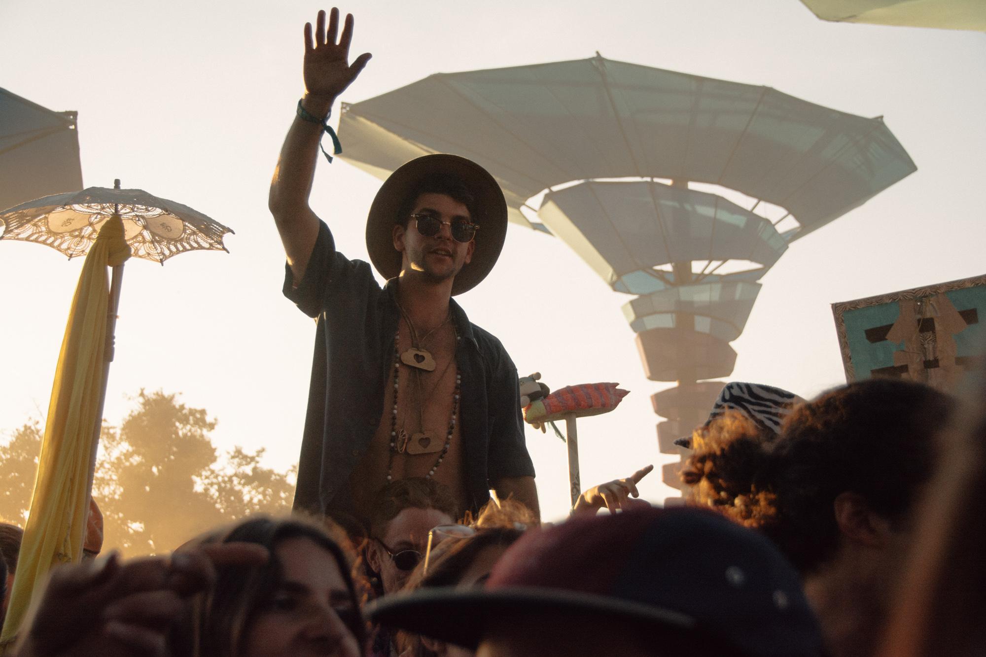 Woogie Stage at Lightning in a Bottle, 2015. Mariya Dondonyan | Daily Trojan