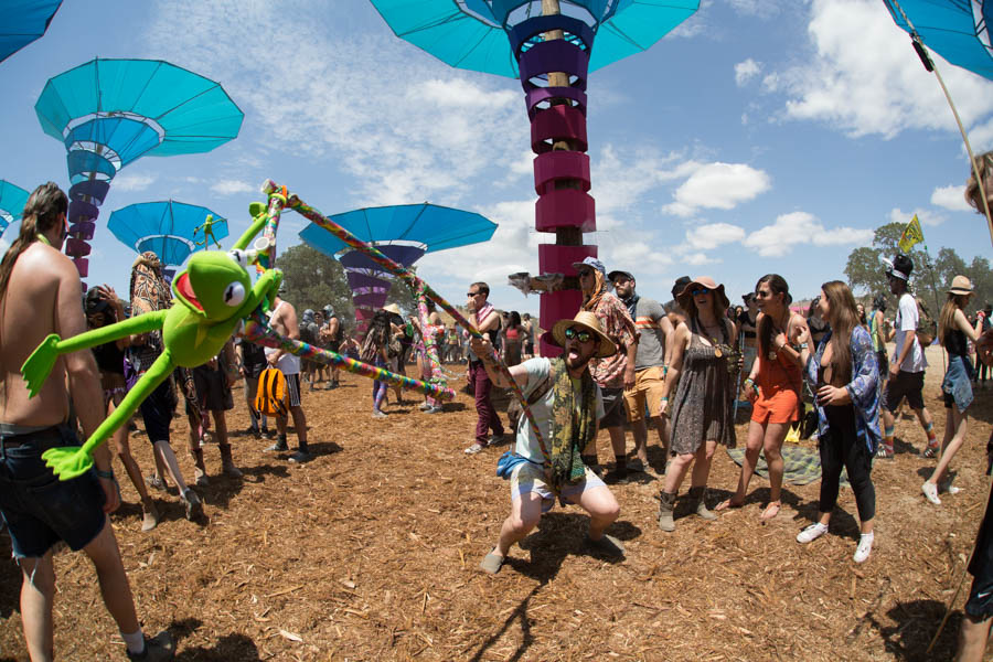 Woogie Stage at Lightning in a Bottle, 2015. Anastasia Velicescu | Daily Trojan