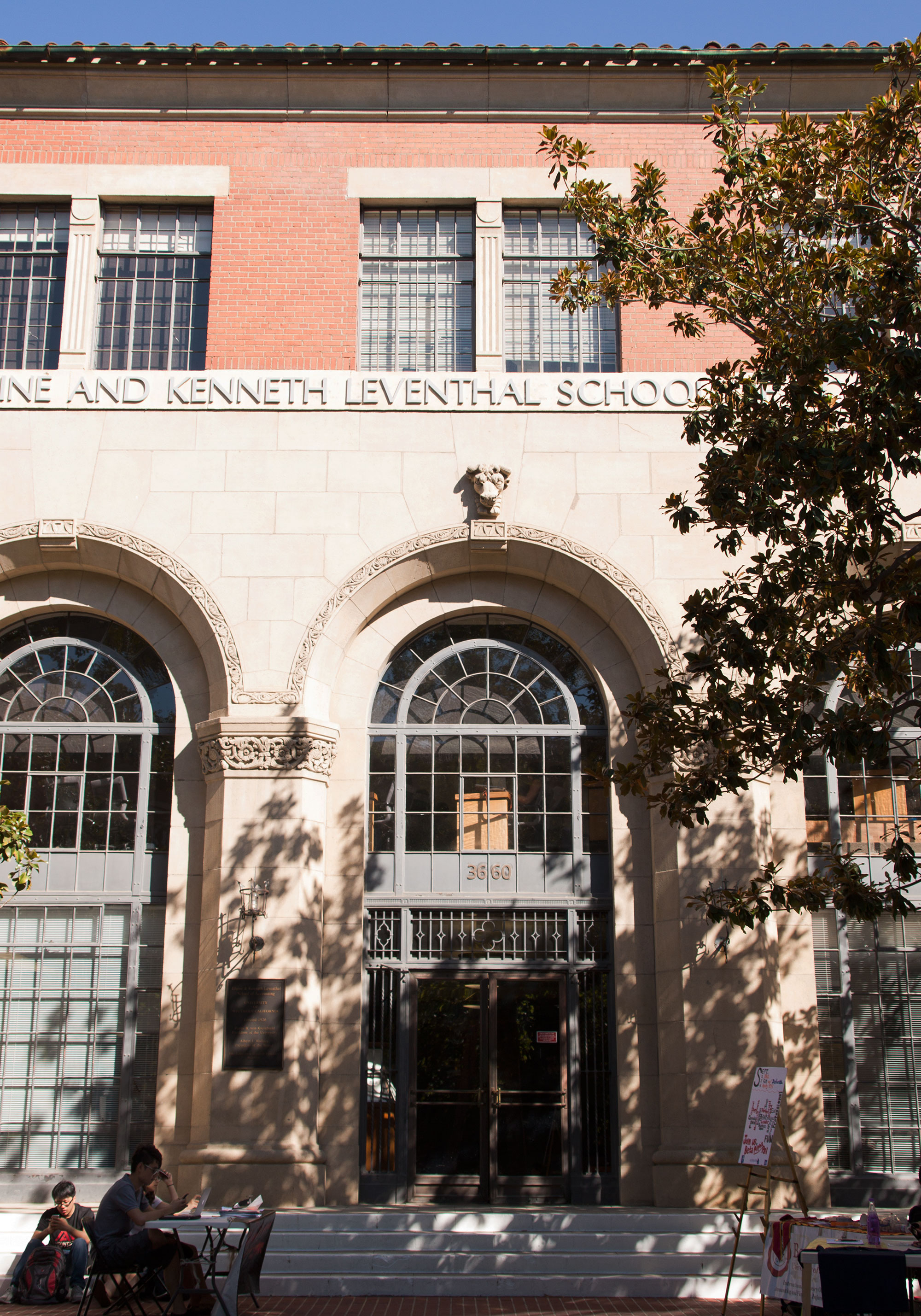 Trojan legacy · Elaine Otter Leventhal and her husband Kenneth Leventhal donated $15 million in 1995 to become the namesake of the accounting school the following year. - Mariya Dondonyan   Daily Trojan