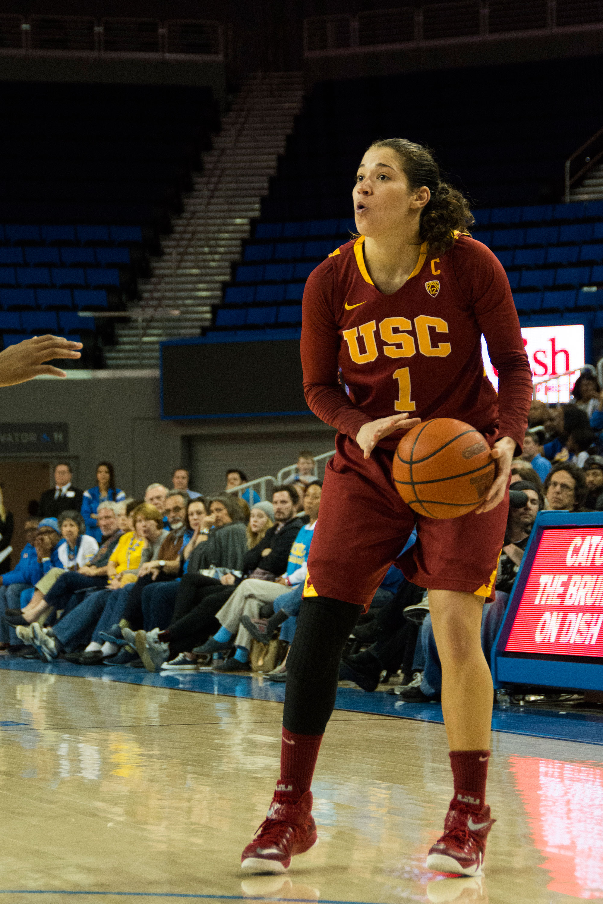 Rebound · Junior guard Jordan Adams and the Women of Troy look to improve on their early first round exit from the Pac-12 tournament.  - Mariya Dondonyan | Daily Trojan