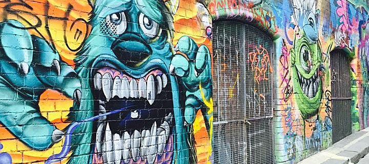 column melbourne street art is a unifying agent for people in the
