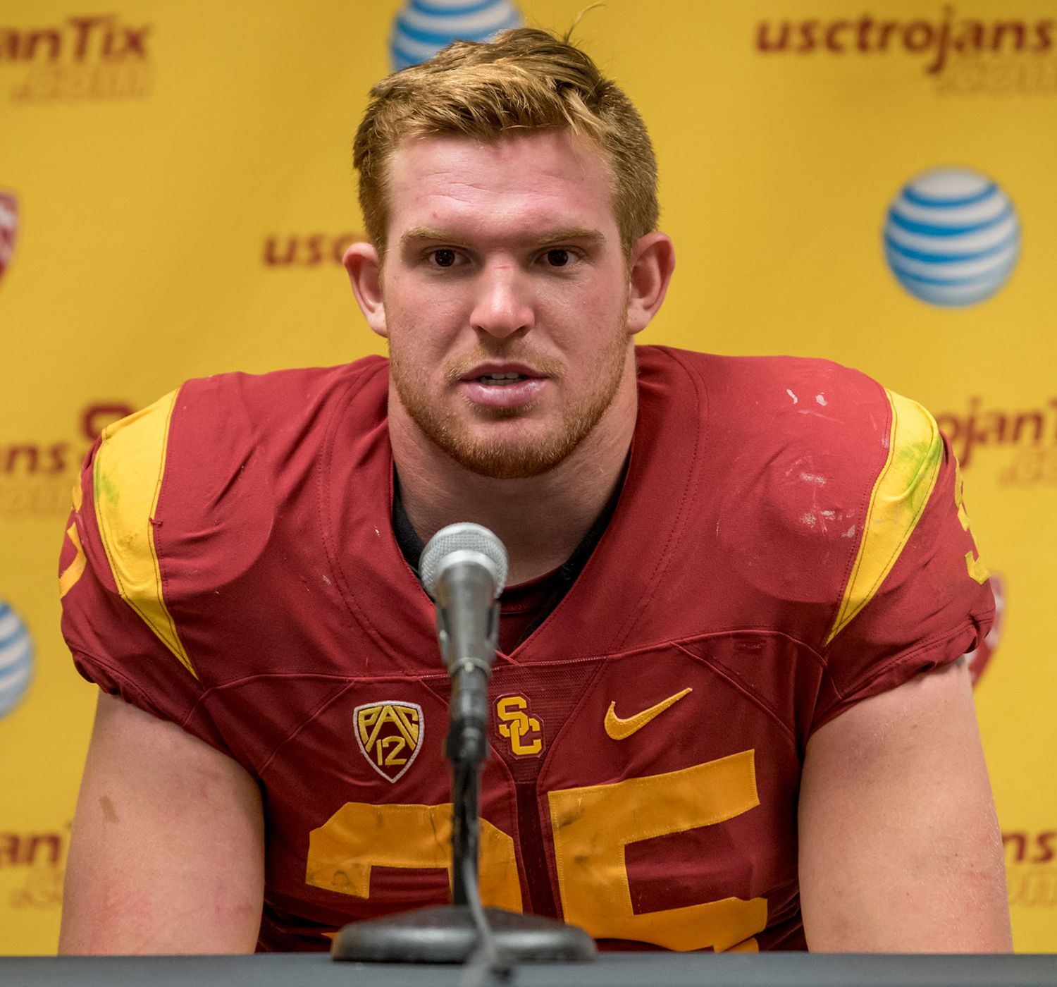 Can't stop Cam · Freshman linebacker Cameron Smith intercepted Utah quarterback Travis Wilson three times in USC's 42-24 win against Utah. He is the first Trojan since 1991 to have three interceptions in one game. - Tal Volk | Daily Trojan