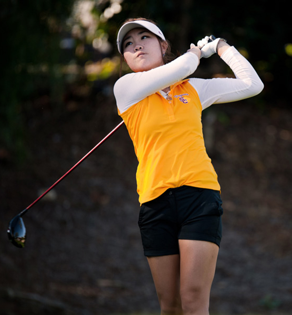 Back-to-back · Junior Karen Chung led the Women of Troy to a fifth place finish at the Windy City Intercollegiate. She has kicked off the season with the Women of Troy's best back-to-back performance since 2013. - Courtesy of Sports Information