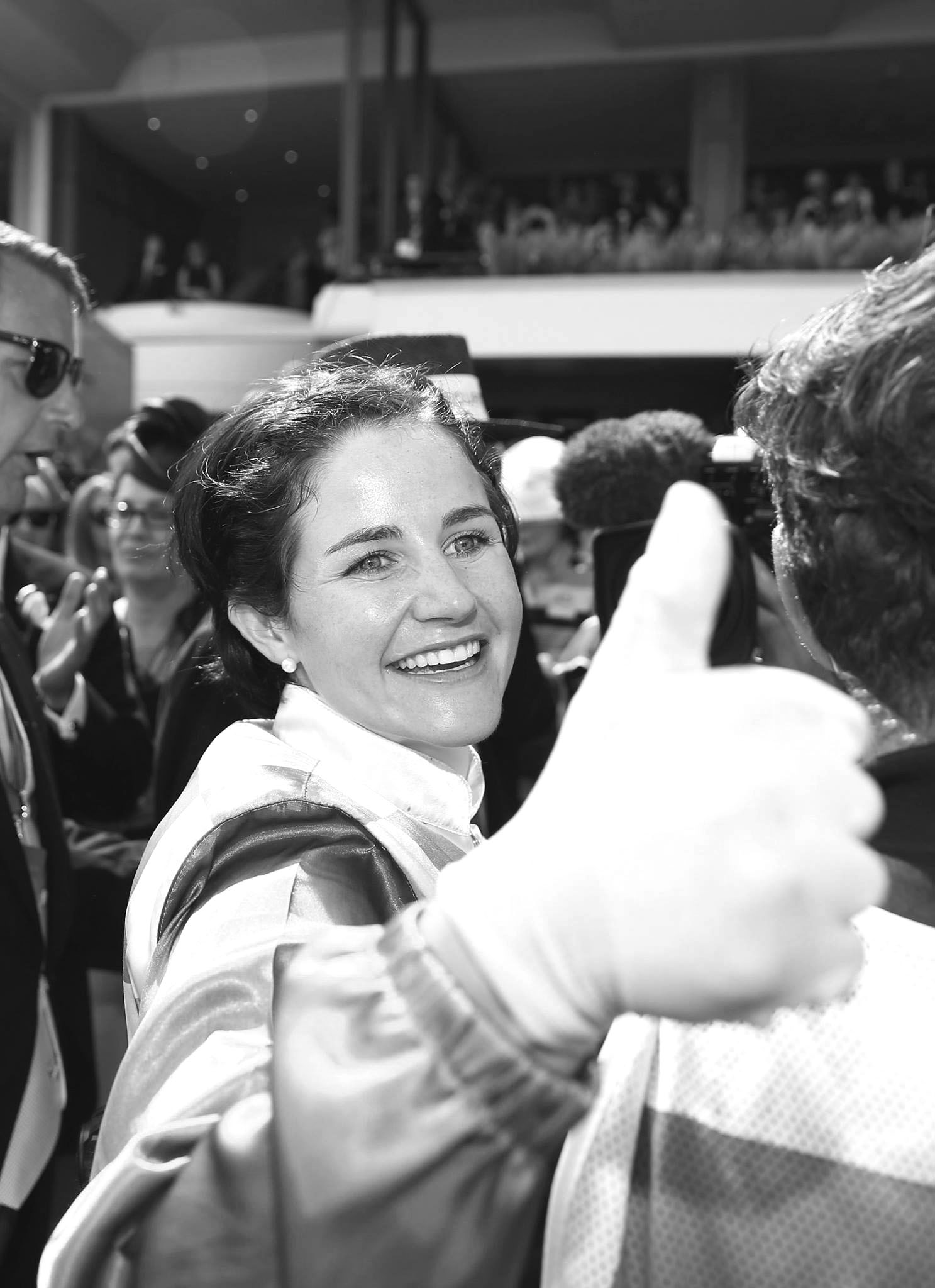 Michelle Payne was the first female jockey ever to win the Melbourne Cup.