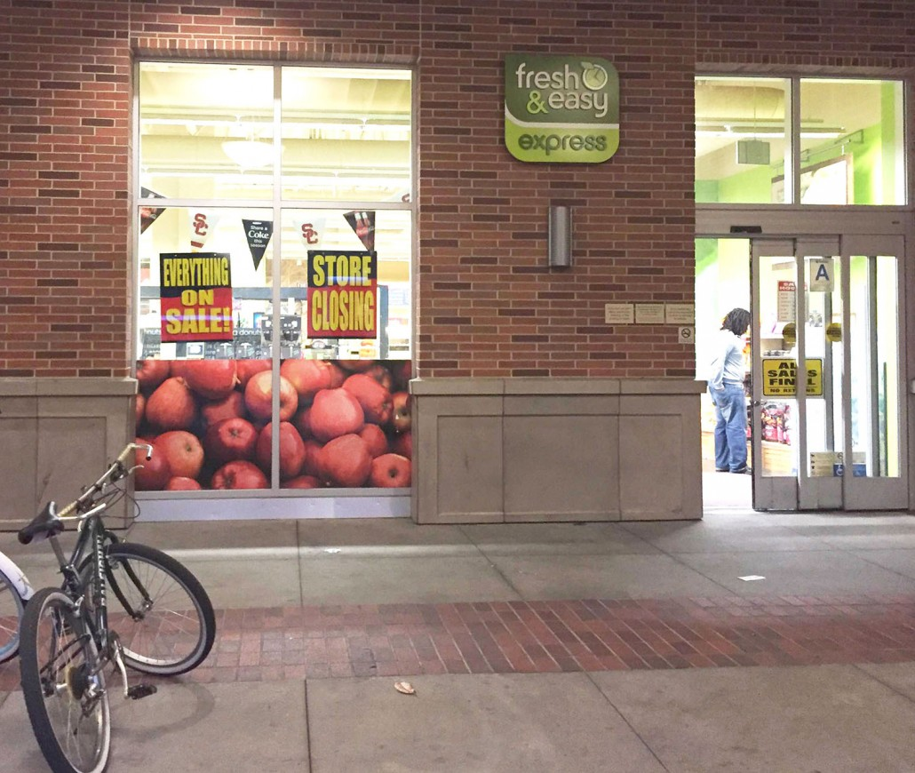 Grocery Store Doors