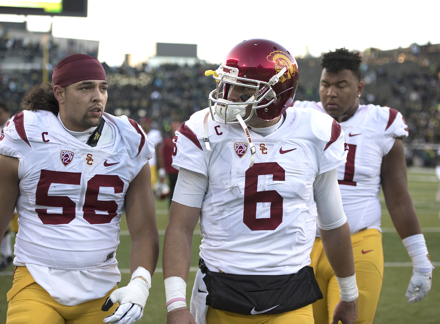All or nothing · This year, the annual rivalry game between the Trojans and the Bruins will decide the Pac-12 South champion. The winner will face Stanford in the Pac-12 championship game. - Mariya Dondonyan | Daily Trojan