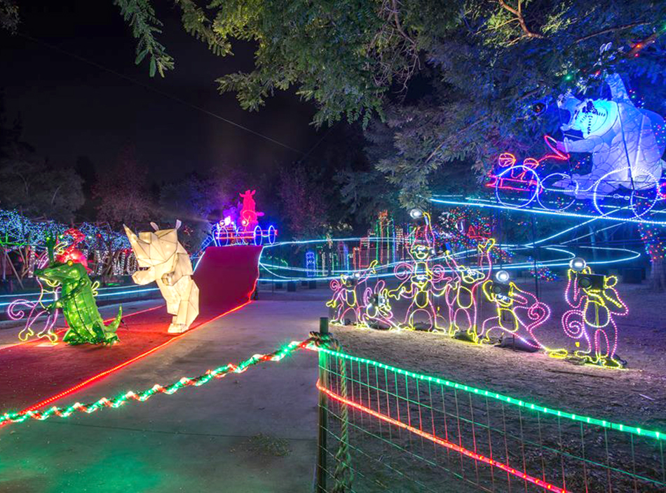 Captivating Los Angeles Zoo Becomes An Illuminated Wonderland For Winter Gallery
