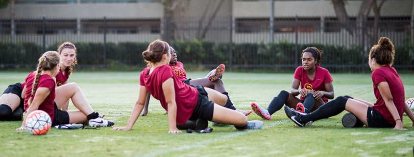 Midfielder Morgan Andrews shines on the pitch for USC