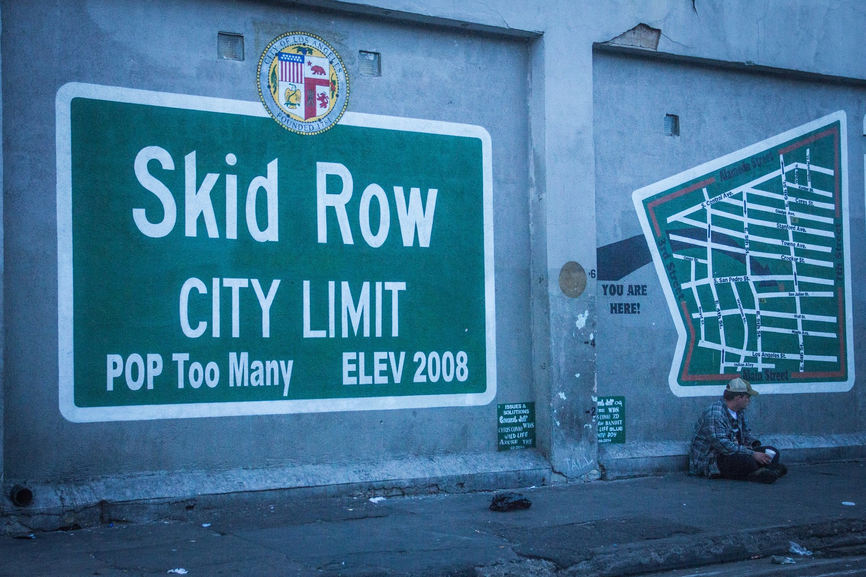 Out of mind but in plain sight: Homelessness in Los Angeles | Daily ...