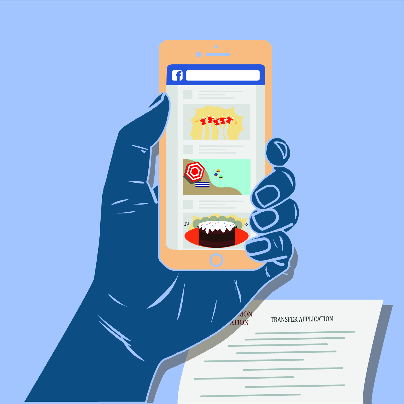 how to ask friends on facebook