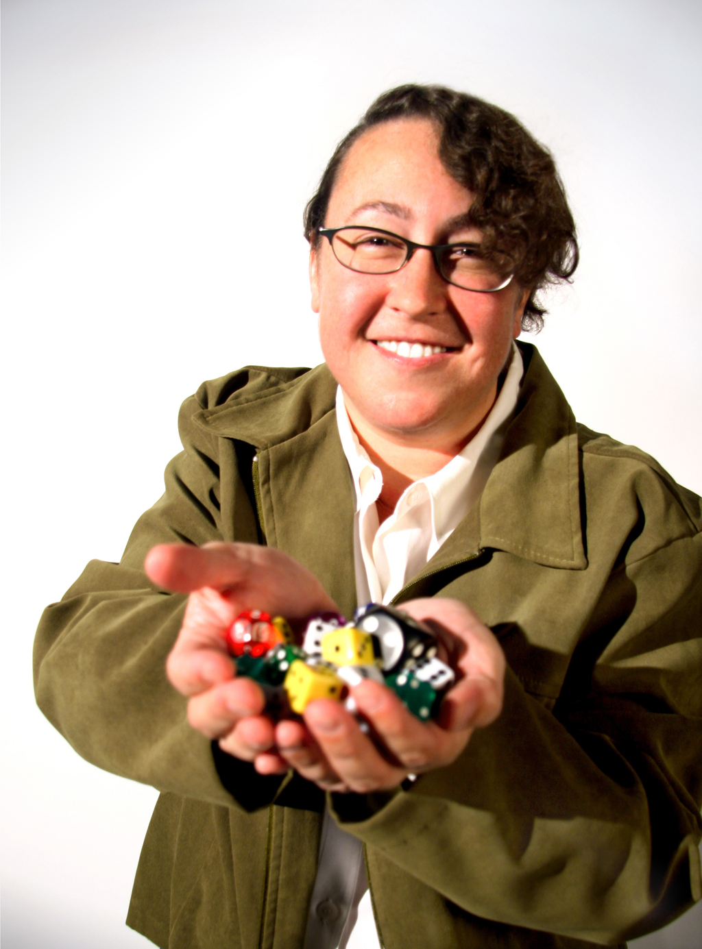 Photo courtesy of USC News  Game on · Tracy Fullerton, the director of the USC Games Program, says her goal is to create a gender-balanced environment in game development.