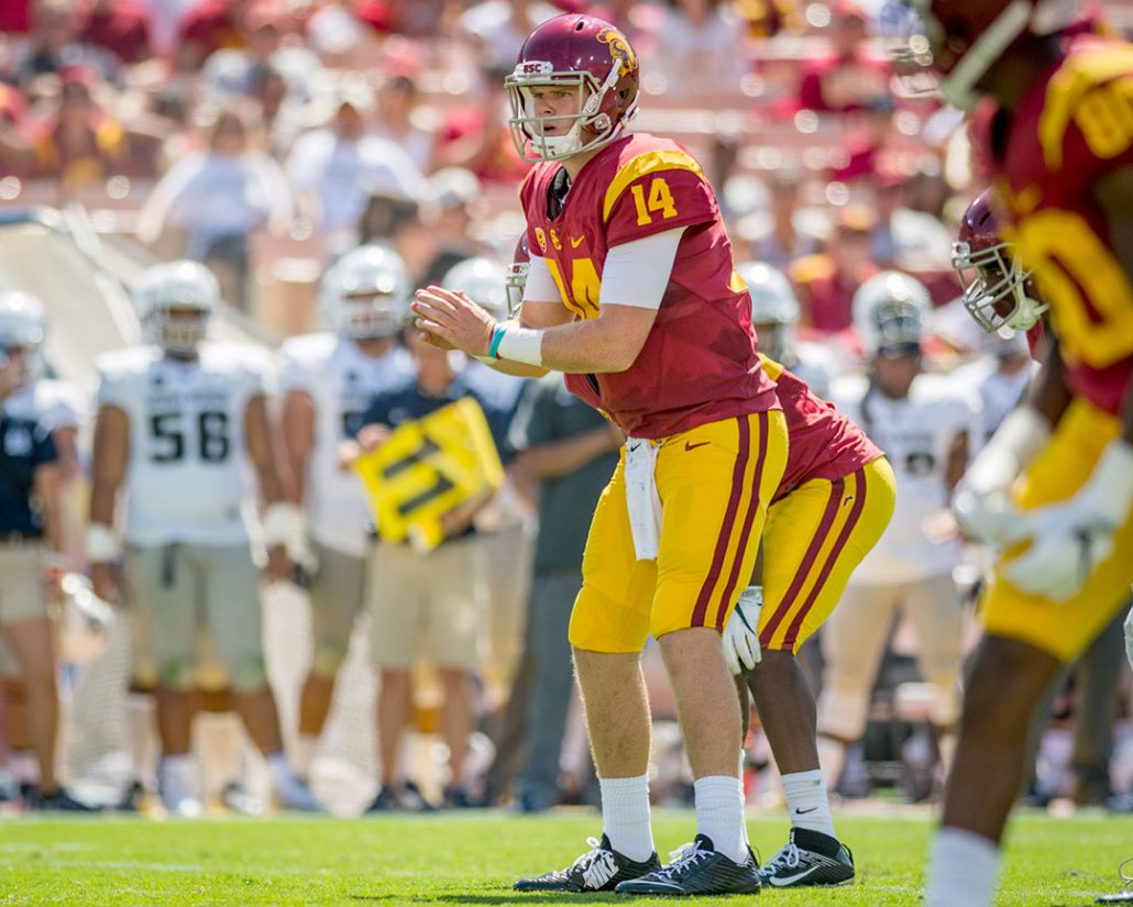 Sam Darnold named USC starting QB over Max Browne