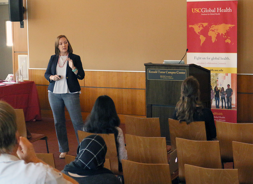 Gender gap · Jennifer McCleary-Sills of the International Center for Research on Women explained the factors that lead to gendered violence.