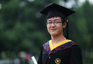 Photo courtesy of USC News A life cut short · Xinran Ji, a graduate of Zhejiang University in China who was working toward his master's degree in electrical engineering at USC, was killed in 2014 during an attempted robbery near campus. He was 24.