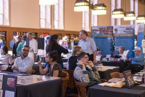 Fah Aramthanapon | Daily Trojan How bazaar · Hundreds gathered at Doheny Memorial Library Saturday for the 11th annual Los Angeles Archives Bazaar, which showed off collections that detailed the history and iconography of Los Angeles and Southern California. The event was held by L.A. as Subject in association with USC Libraries.