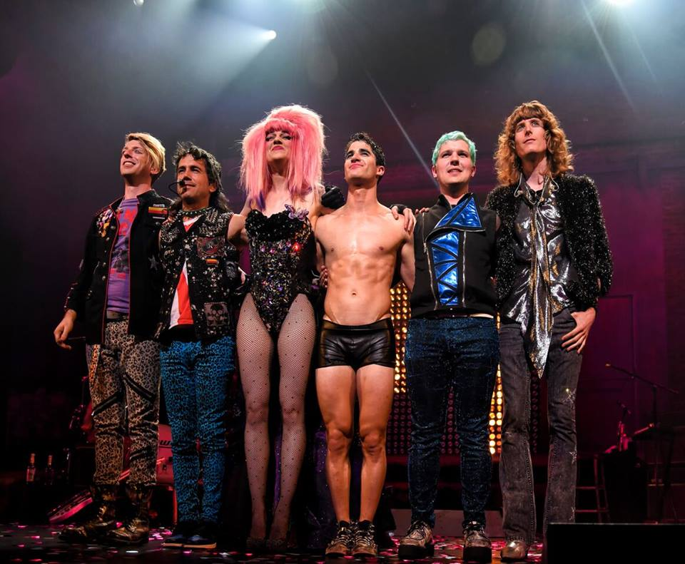 Photo from Hedwig on Broadway Break a leg · Based on the John Cameron Mitchell novel, the Tony Award-winning musical Hedwig and the Angry Itch will be led by former Glee star Darren Criss and Lena Hall in San Francisco and Los Angeles.