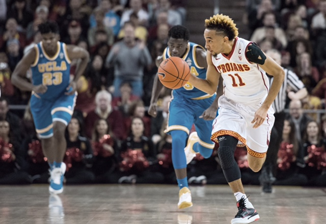purchase cheap 268d5 bff54 Jordan McLaughlin looks to live up to the hype   Daily Trojan