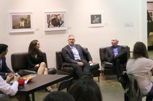 Kaley Cho | Daily Trojan Election preview · Christina Wilkes, Matt Klink and Dan Schnur discussed the future of American-Israeli relations and other issues pertaining to the Jewish community in regards to the election on Wednesday evening.