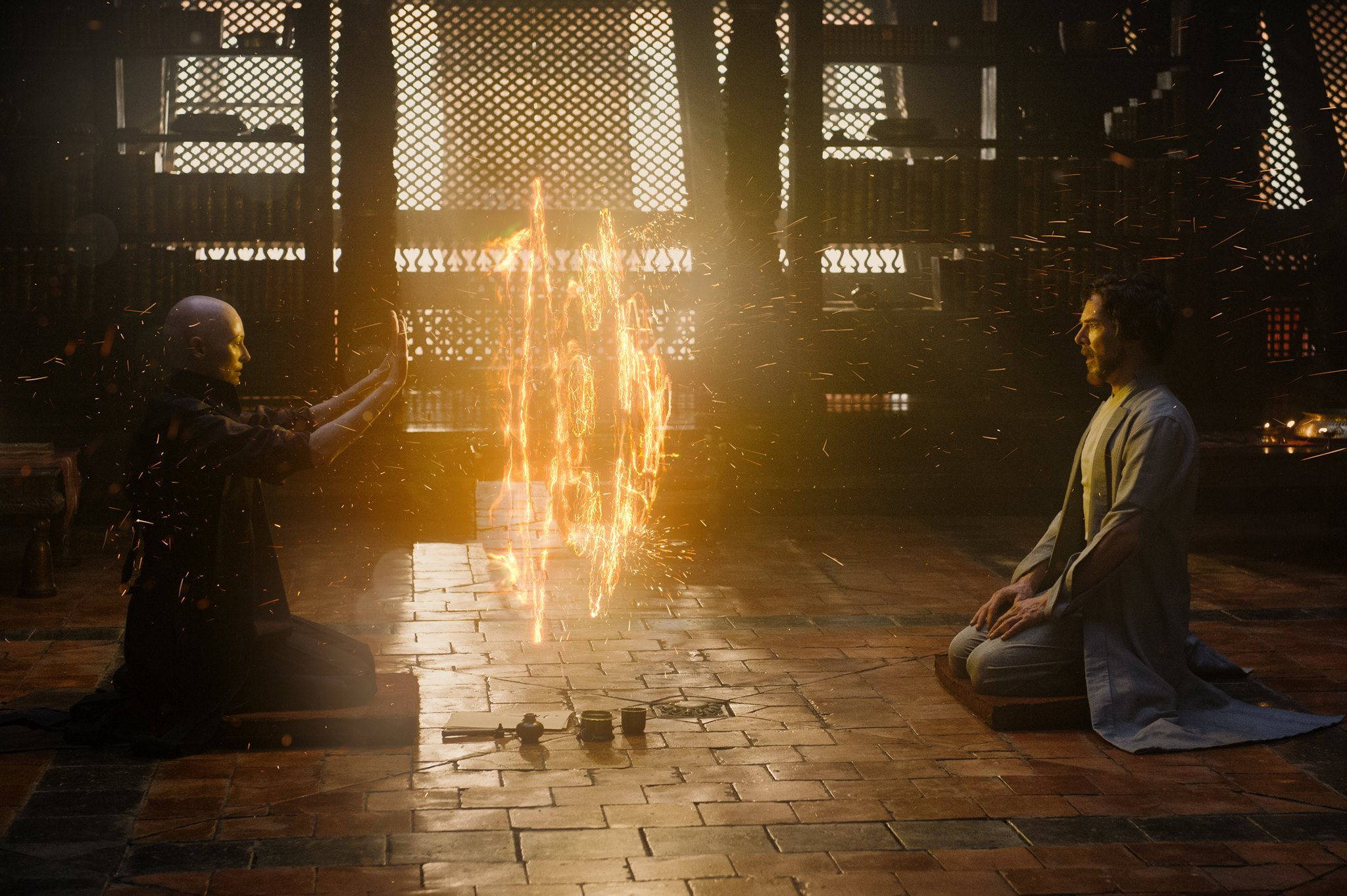 Photo from Marvel Studios Science rules · Doctor Strange is a superhero film based on the Marvel character of the same name. The movie, directed by Scott Derrickson, features actor Benedict Cumberbatch as protagonist Stephen Strange.