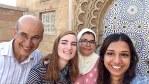I have been living with them for the past four months and have never felt more loved. The are the epitome of Moroccan hospitality and helped me with my Arabic and Darija immensely. I will miss them dearly.