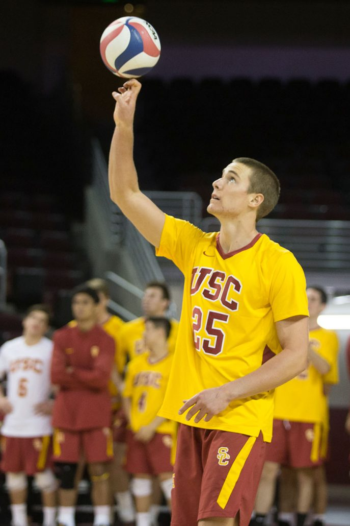 Men's volleyball set to take on No. 6 UCLA | Daily Trojan