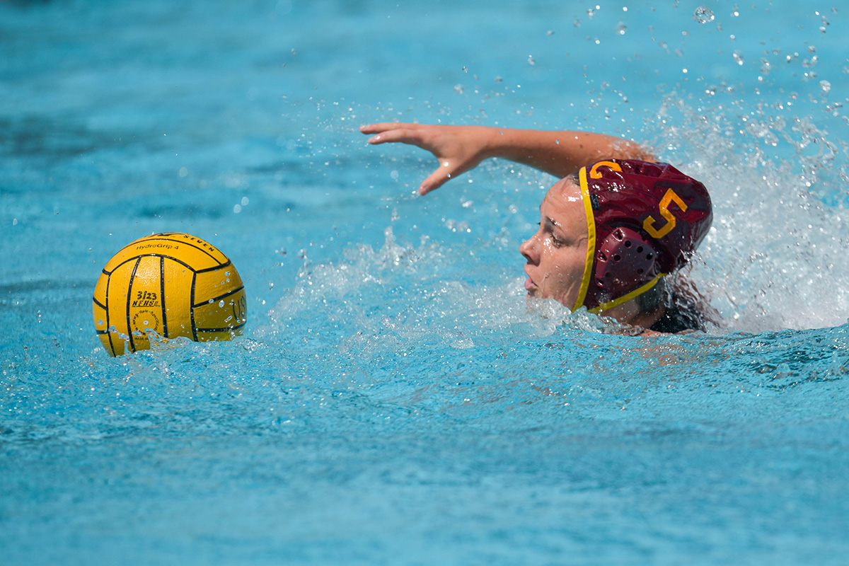 Women s water polo tops No. 4 Arizona State at home  9283beb827