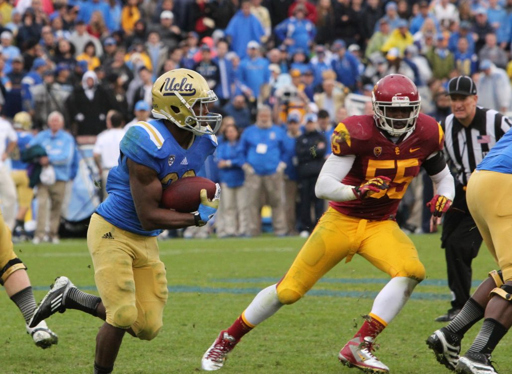 Judge dismisses former USC linebacker's wage lawsuit against NCAA, Pac-12