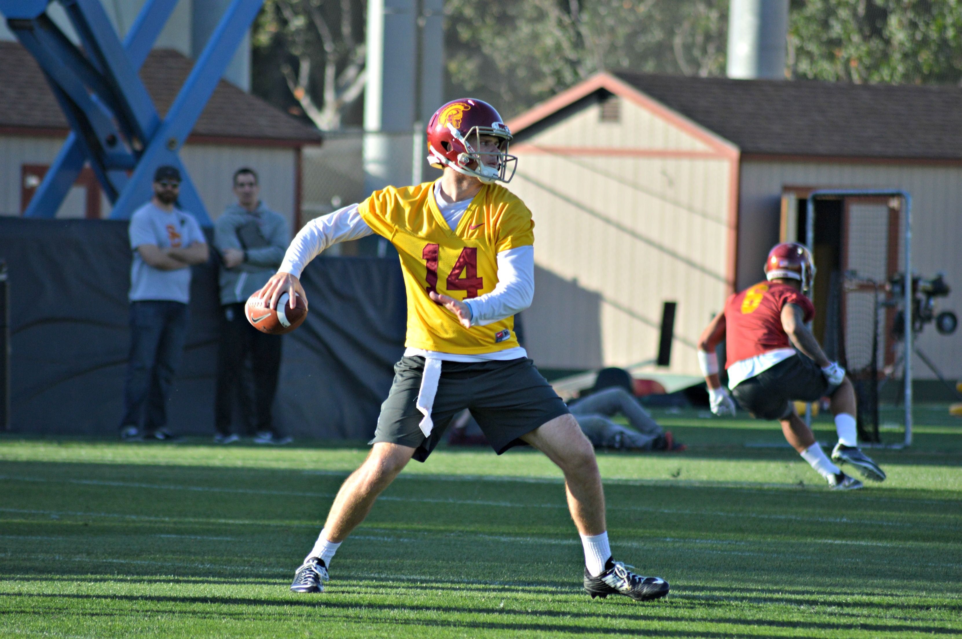 Saturday's best moments were led by USC's Jake Olson, blind long snapper